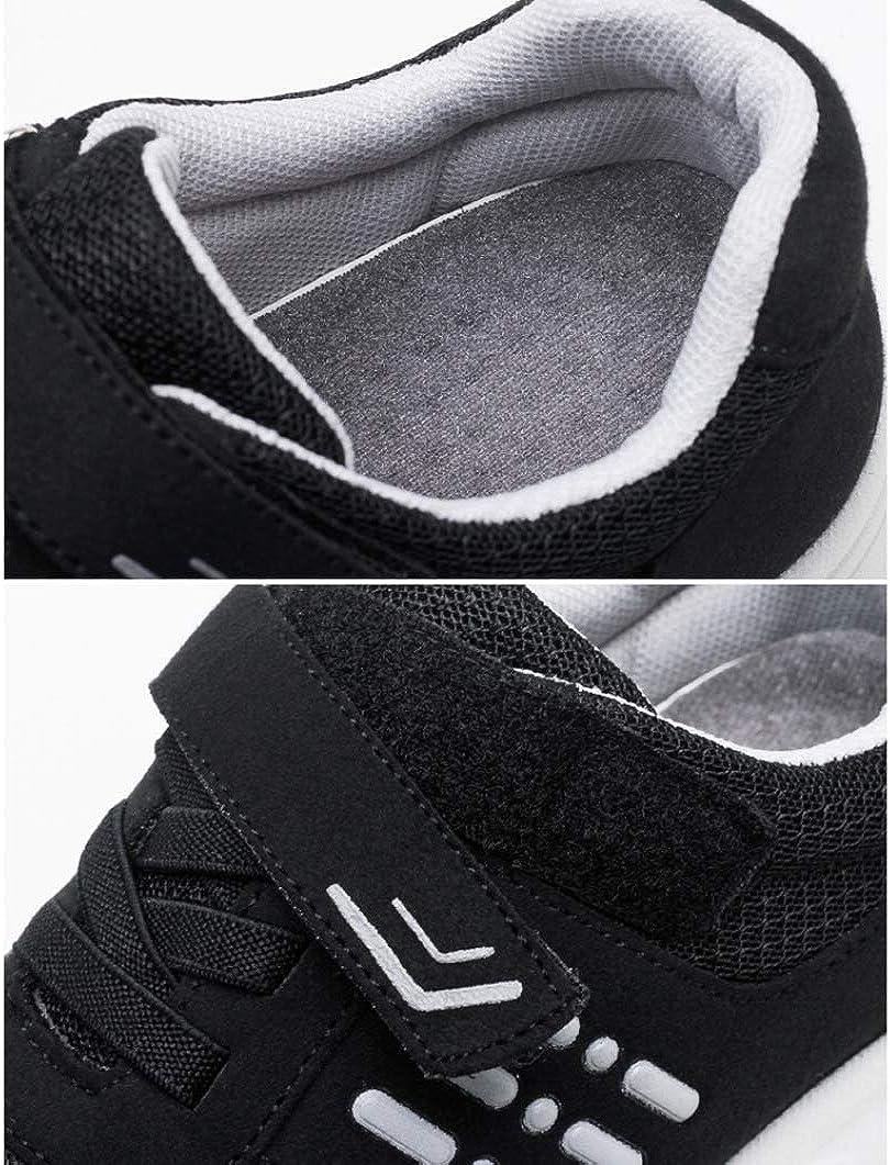 Femmes Chaussures De Course D'été en Plein Air Randonnée Boucle Respirant Maille Basse Plate-Forme Anti Slip Sports Trainers Femme Léger Baskets De Mode Noir