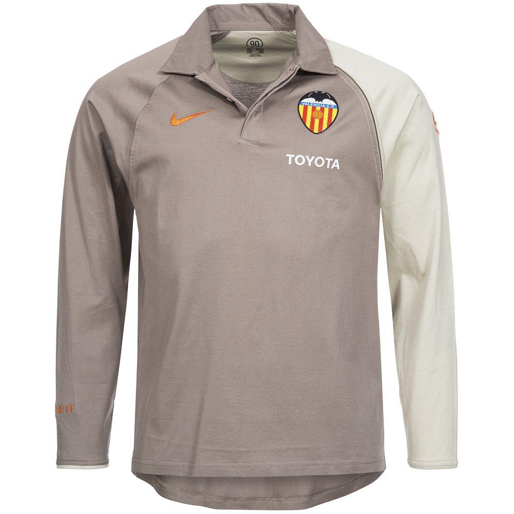 Nike FC Valencia presentación de Polo Camiseta Manga Larga 793147 ...