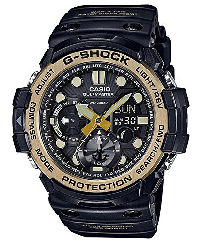 Casio G-Shock Master of G Smoke Dial Resin Quartz Men's Watch GN1000GB-1A