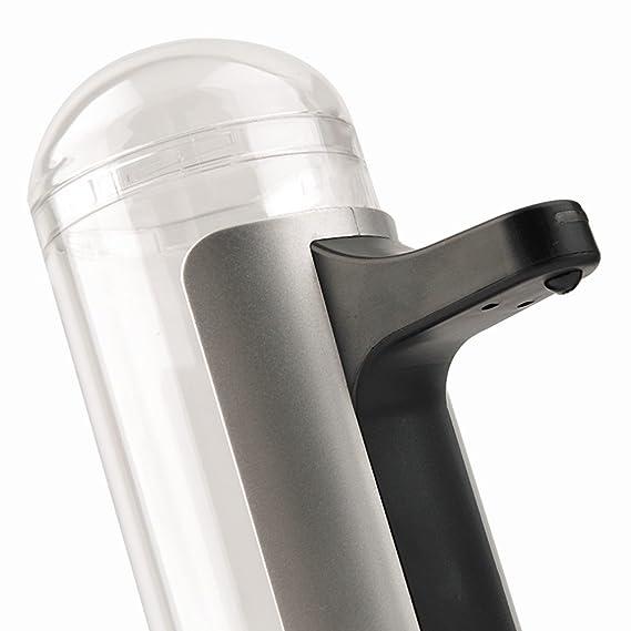 Dispensador automático de jabón, con sensor de infrarrojos, manos libres, desinfectante, para cocina y cuarto de baño: Amazon.es: Hogar