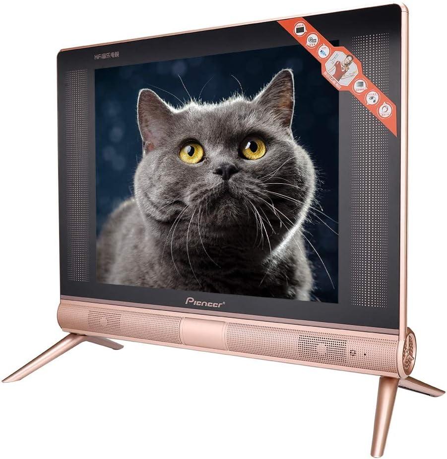 17 Pulgados Mini Televisor Portátil,Alta Definición Televisor LCD,TV Digital Soporte HDMI, USB, AV,Equipado con Altavoces de Sonido de Alta Gama,17 Pulgadas VGA Television Inteligente de Metal (EU): Amazon.es: Electrónica