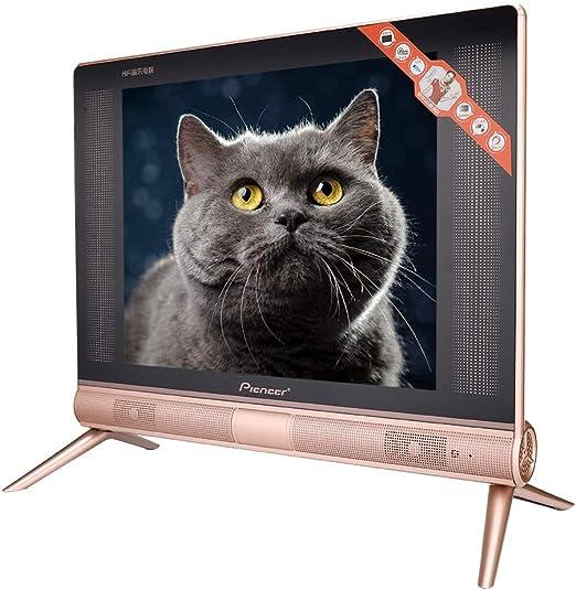 ASHATA Televisor LCD de 17 Pulgadas, Mini televisor portátil, televisor LCD de Alta definición, Sonido estéreo y Pantalla LCD Full-HD, resolución de 1366x768(UE): Amazon.es: Electrónica