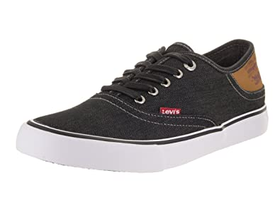 Mens Levi's Porter Black Casual Shoes Z22931