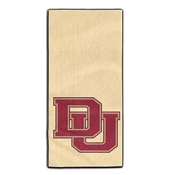 Denver pioneros Logo viajes y deportes Yoga gimnasio baño cara toalla: Amazon.es: Hogar