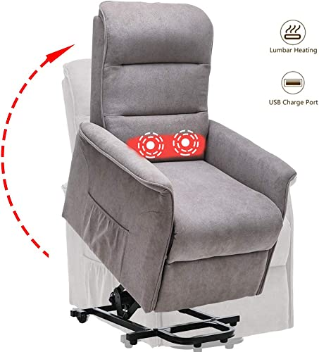 Power Lift Recliner Chair with Heat Massage Color 2