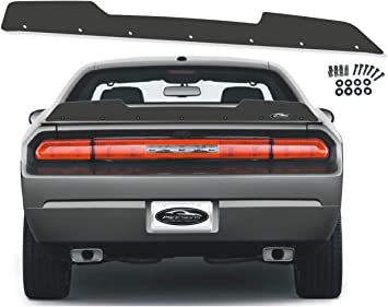 Venom Series Challenger 2 Piece Wickerbill Spoiler 2015-2019 RT SRT Hellcat Scat Pack with RivNut Tool PSDesigns