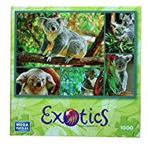 Koala 1000 Piece Exotics Mega Puzzle