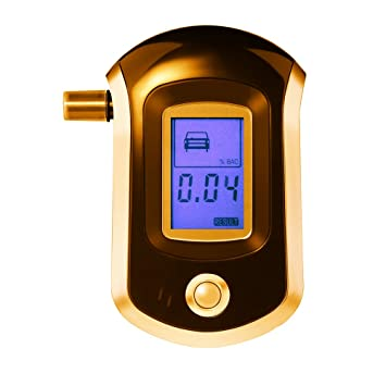 VicTsing Professional Breathalyzer with Semi-conductor Sensor and LCD Display Digital Breath Alcohol Tester with