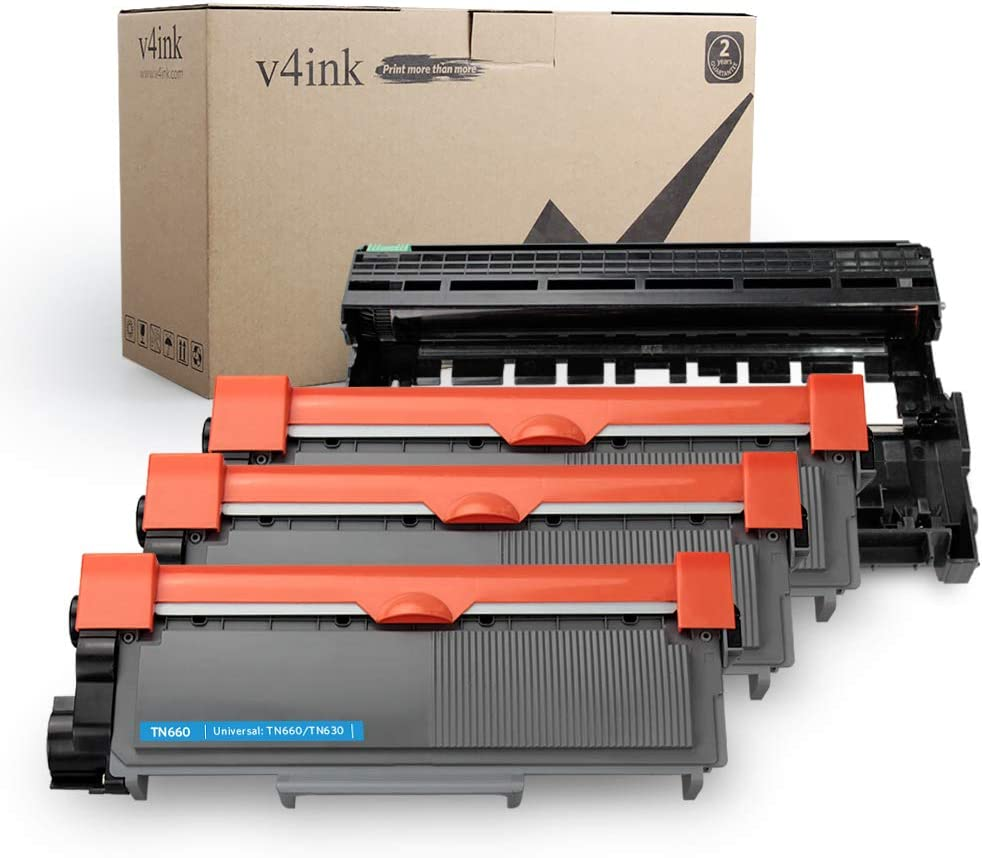 3PK TN660 Toner Cartridge /& 2PK DR630 Drum For Brother HL-L2380DW MFC-L2700DW