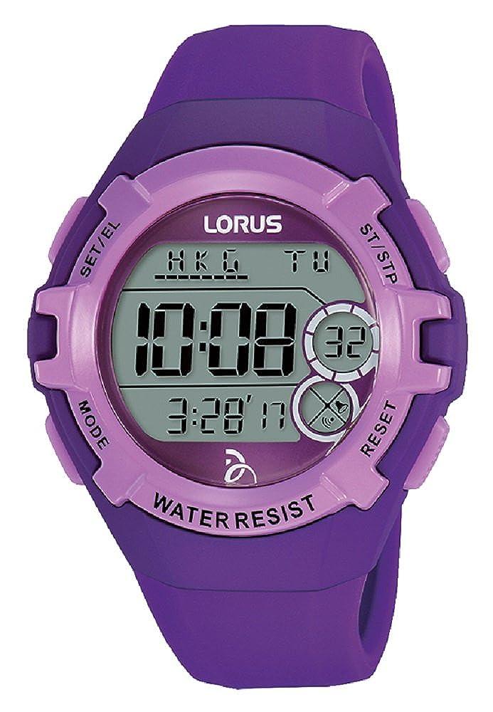 Lorus Reloj Digital para Unisex de Cuarzo con Correa en Silicona R2395LX9