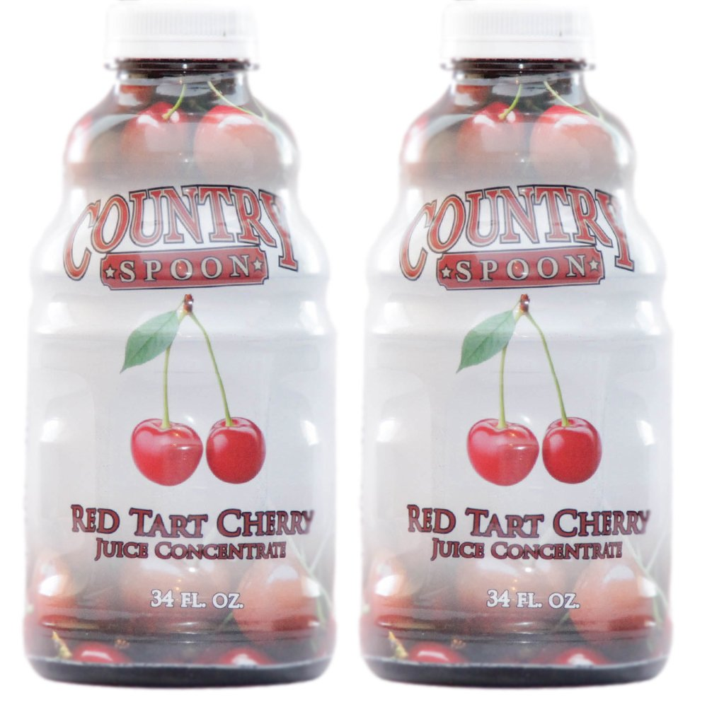 Country Spoon Montmorency Red Tart Cherry Juice Concentrate (34 oz  2-Pack)
