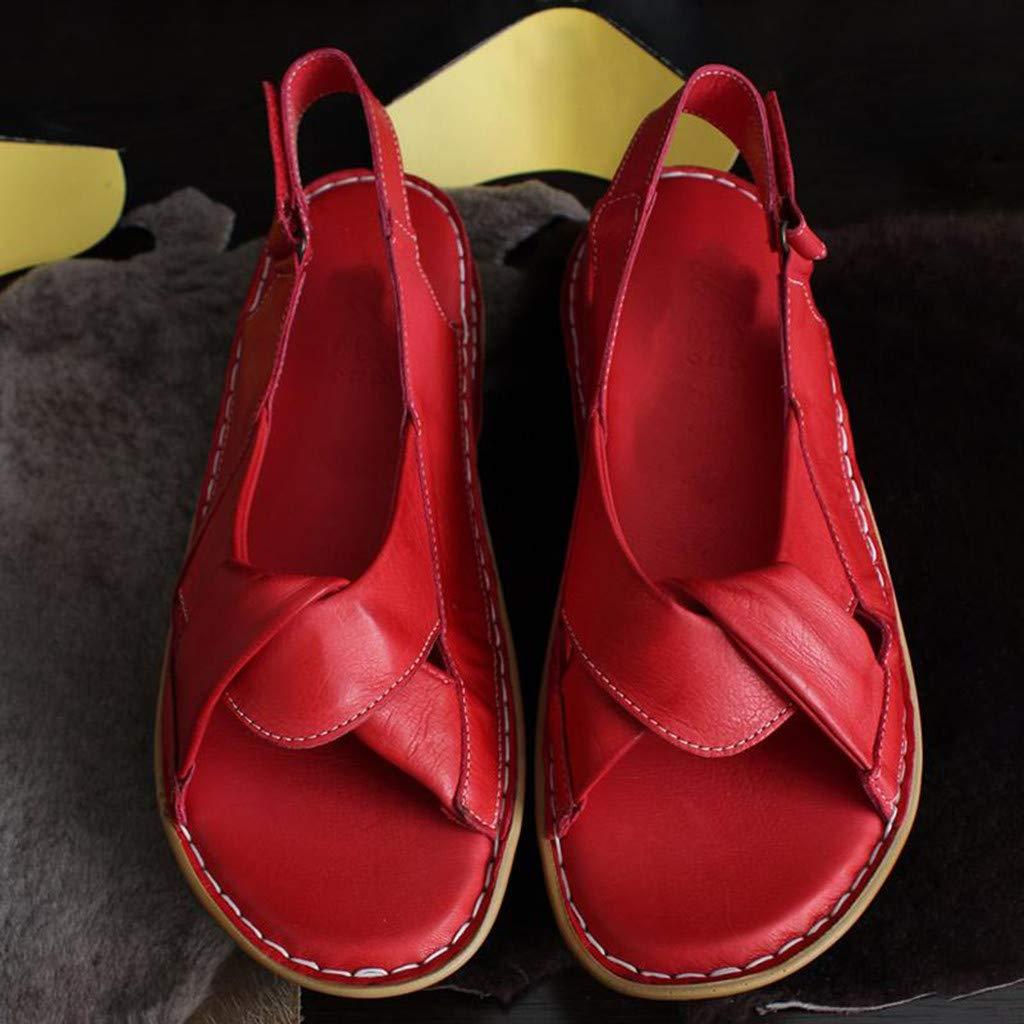NINGNETI Zapatos De Mujer Embarasada Sandalias De Mujer Plataforma Planas Verano 2019 Planas Sandalias De Mujer Verano Comodas