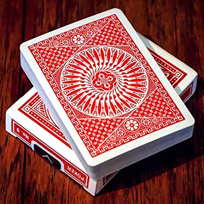 Tally-Ho Playing Cards - Circle Back - RED: Toys & Games