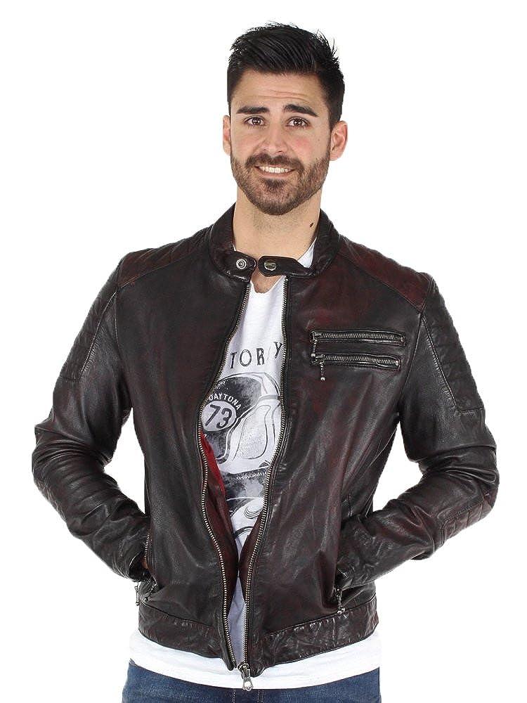 Leather Jacket Röd Ref Daytona Starget day42411 FWnzf0P 42d58fe8411
