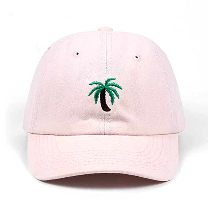 92fdbb16 Glad You Came New Embroidery Palm Trees Curved Dad Hats Take A Trip  Baseball Cap Coconut