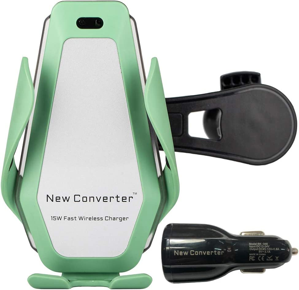 15W Fast Charge Warranty 730 Days. FCC Certification Wireless Car Charger Including QC 3.0 car Charger Adapter and 59 inches//5ft 20W Cable Infrared Open-Path Detector