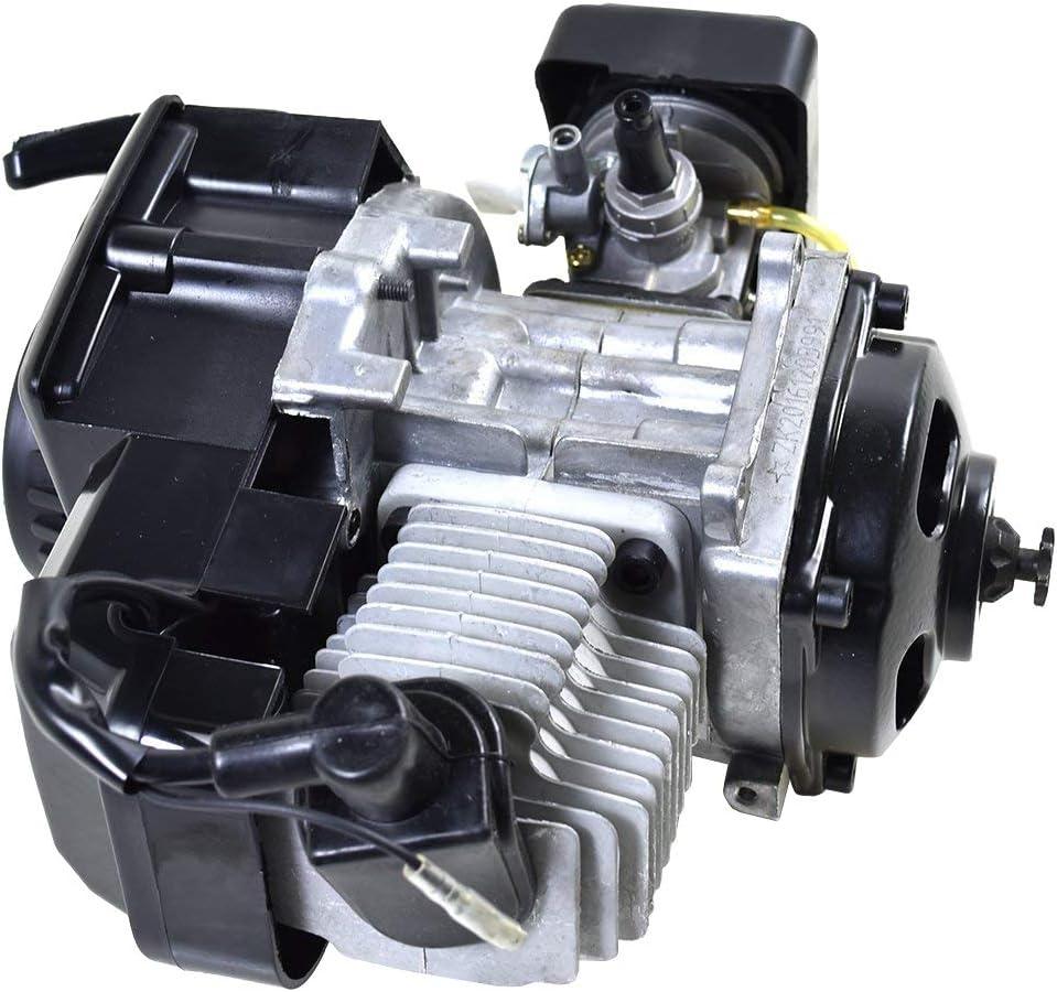 TDPRO 2 stroke Engine Motor for Mini Pocket Bike Scooter Dirt Bikes ATV Quad Motorized Bicycle