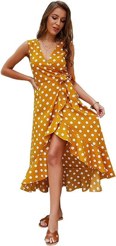 Vestido de Mujer Falda Vestido Sea Beach Elegante de Noche para ...