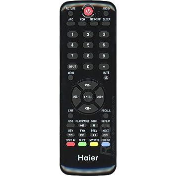 Haier HTR-D09 LED/ LCD TV Remote Control (Replaces HTR-D09A, HTR-D09B)