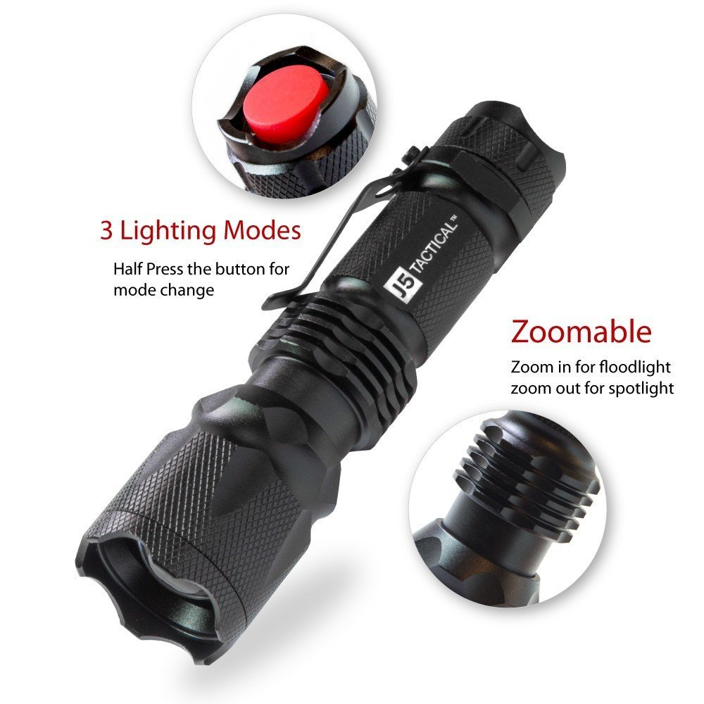 Best Tactical Flashlight Reviews 16