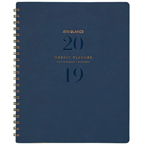 Amazon.com: AT-A-GLANCE - Agenda semanal de citas L: Office ...