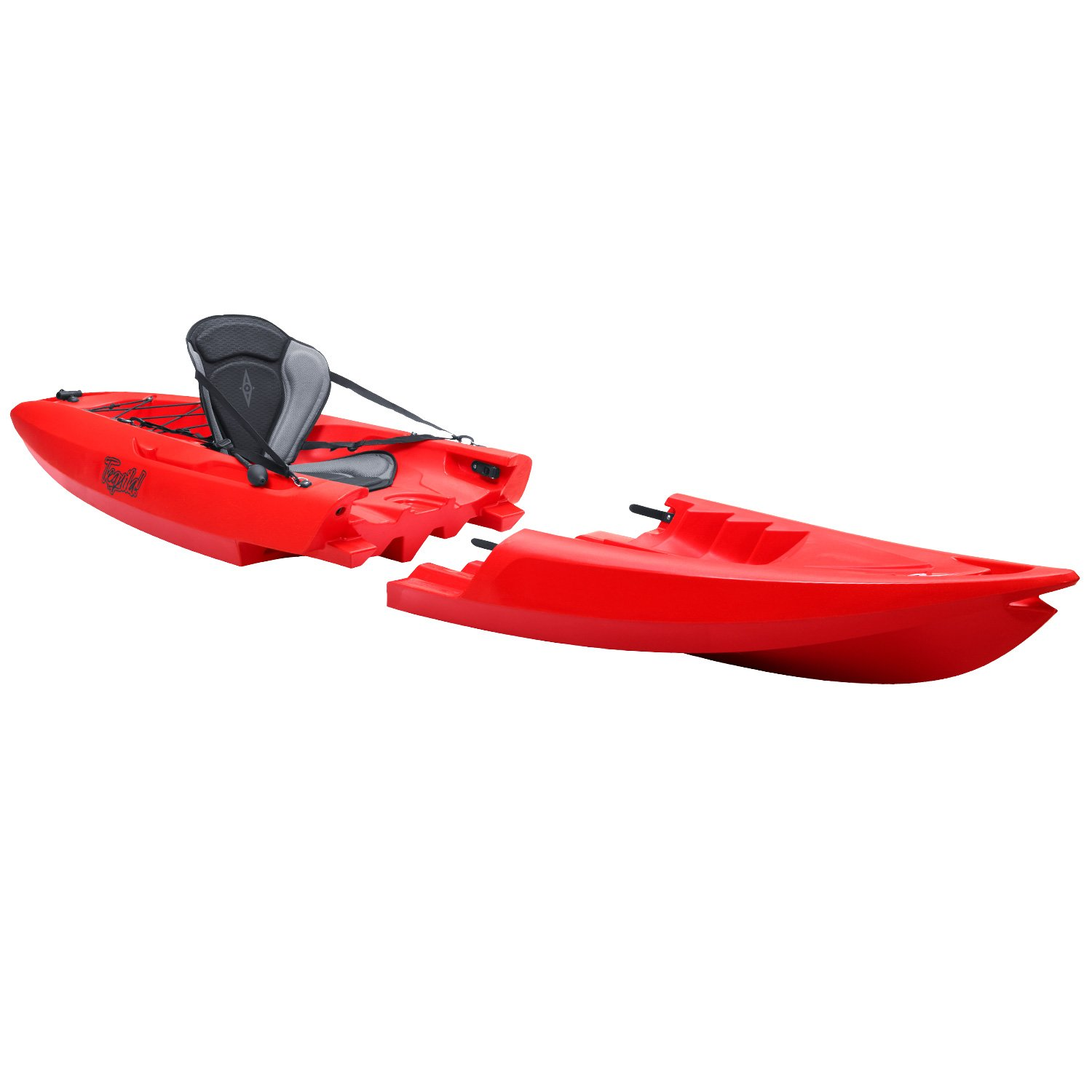 Point 65 N Tequila GTX Solo Modular Kayak-Red