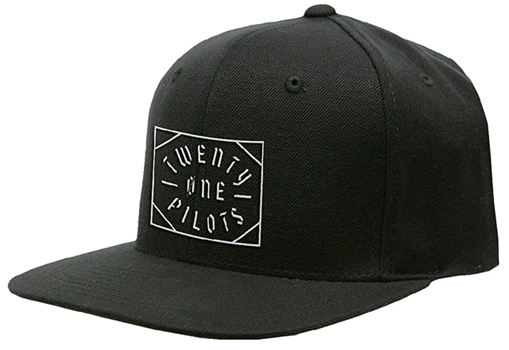 Twenty One Pilots 'Goth Square Logo' Baseball Cap
