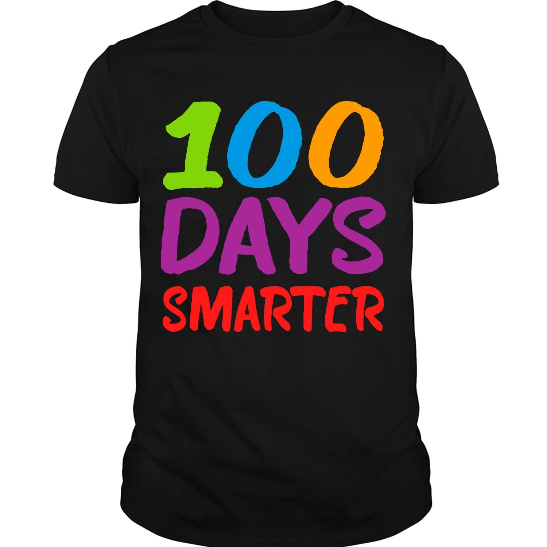 100 Days Smarter T Shirt 100th Day Of School T Shirt 2149