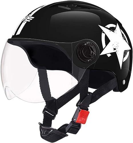 MTSSH Casco Moto Riding Scooter Crash Casco Protección Flip Up 2 ...