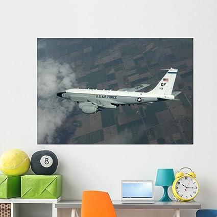 Amazoncom Rc 135w Rivet Joint Aircraft Wall Mural by Wallmonkeys