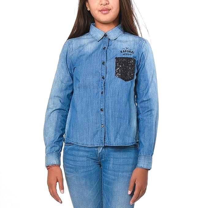 Kaporal - Blusa - para niña Azul azul 10 años
