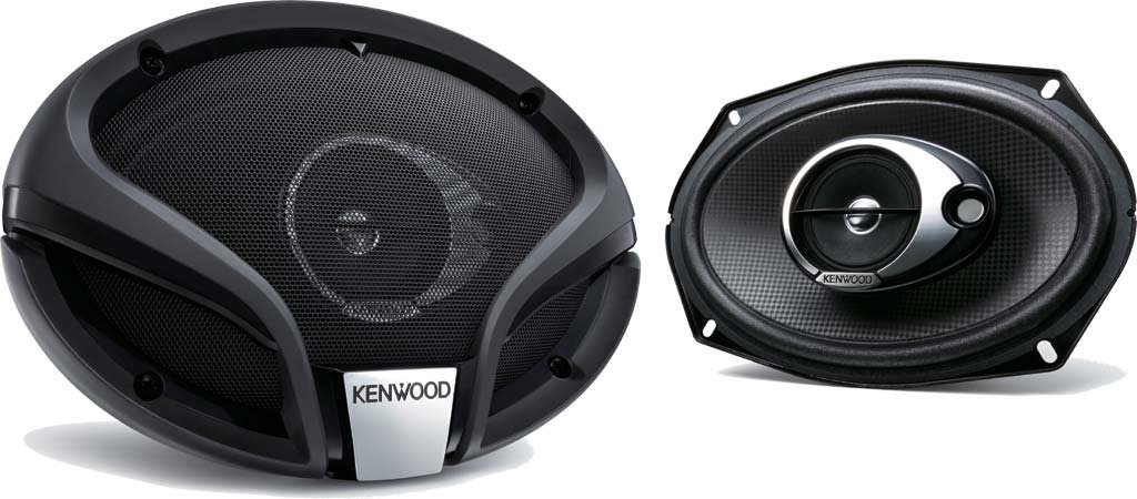 Kenwood KFC-M6934A - Altavoces coaxiales para coche de 350 W, negro Kenwood Electronics Deutschland GmbH