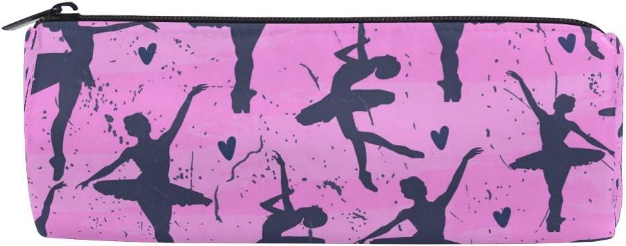 ALAZA Trousse /à crayons pour danseuse de ballet avec fermeture /éclair Grande capacit/é pour stylo et trousse de maquillage
