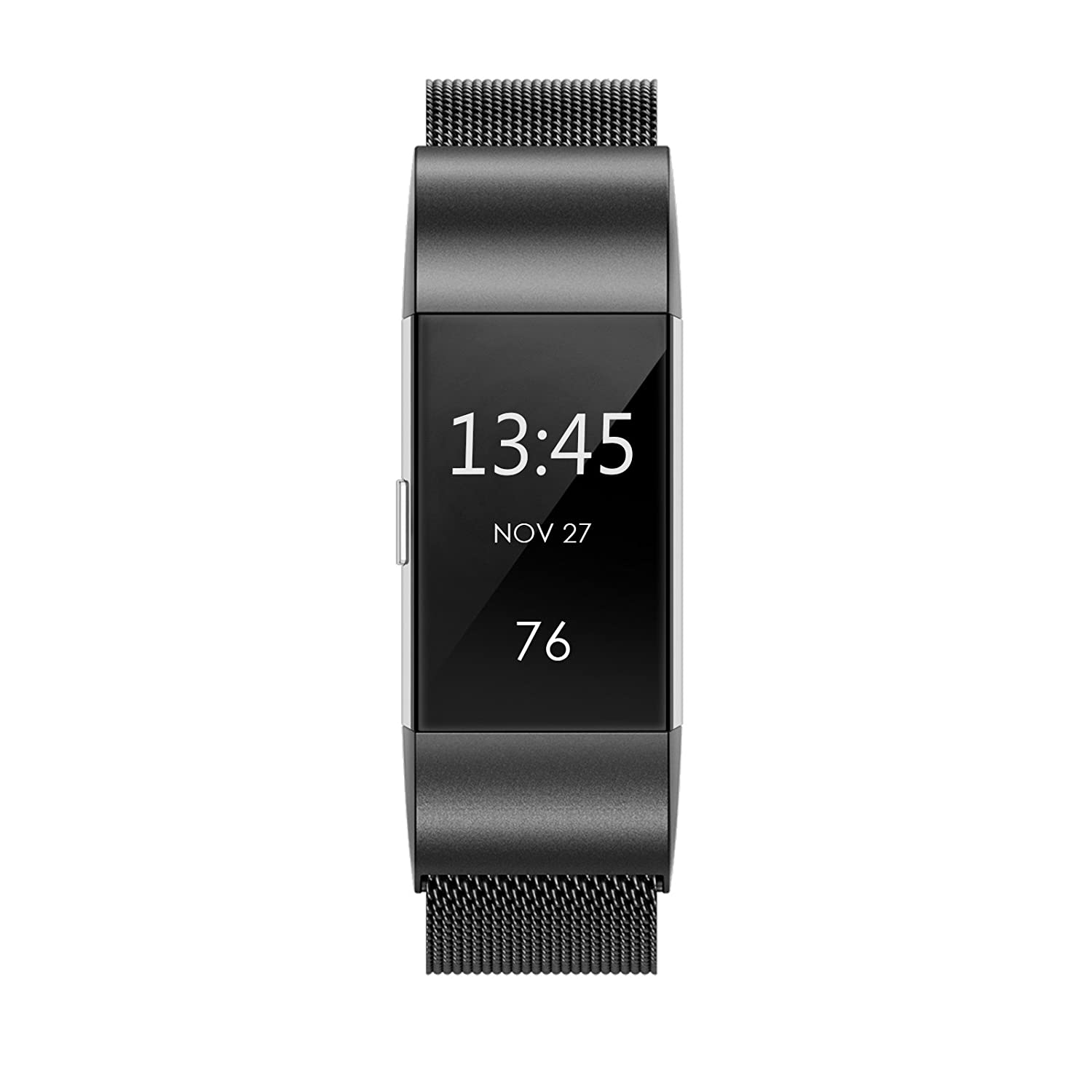 amazon com fitbit charge 2 bands metal swees milanese loop