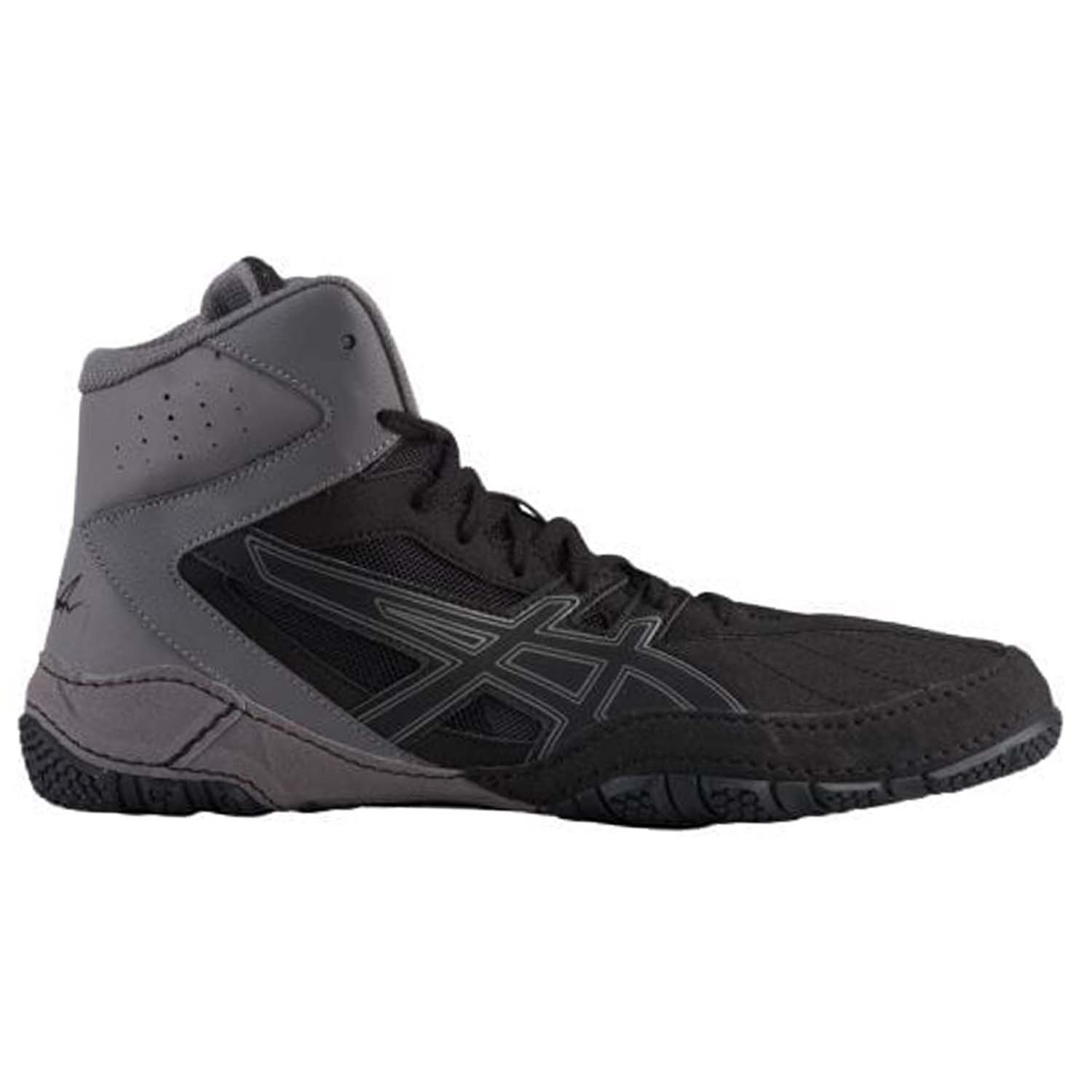 ASICS Men's Cael V8.0 Men's Wrestling Shoe, Black/Black, 12 M US 1081A002
