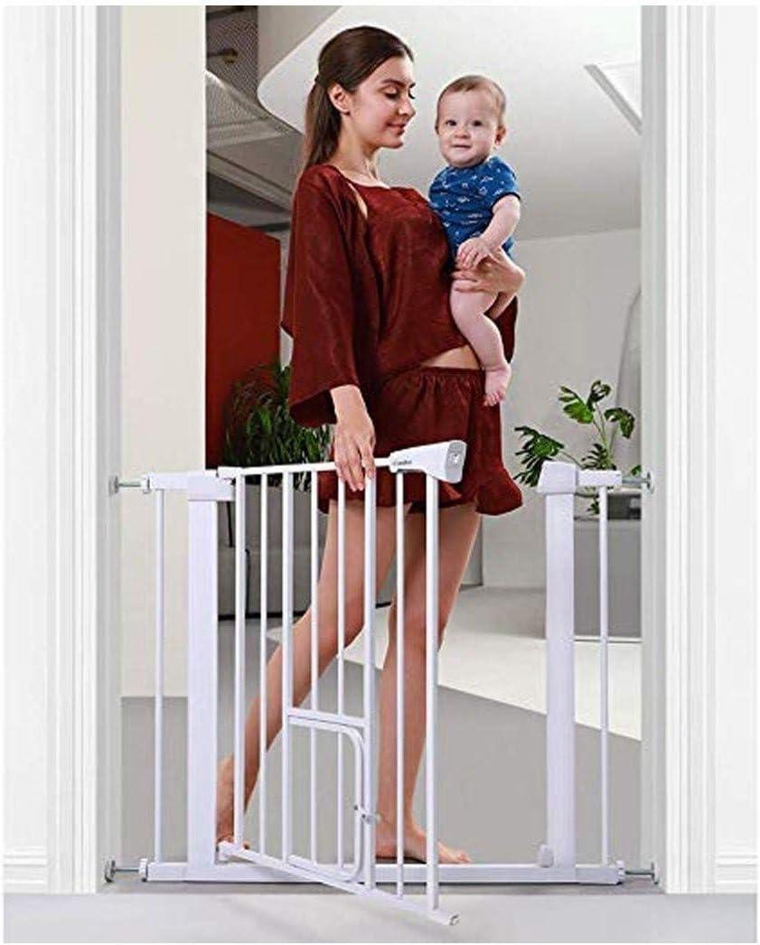 Seguridad Del Bebé Monte Puertas De Cierre Automático Valla De Protección Del Animal Doméstico Los Gatos De La Puerta For Escaleras Barandilla (Color : High76cm Width , Size : 173-180cm) : Amazon.es: Hogar