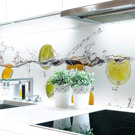 Küchenrückwand Frucht Wasser Premium Hart Pvc 0 4 Mm Selbstklebend 60x60cm Küche Haushalt