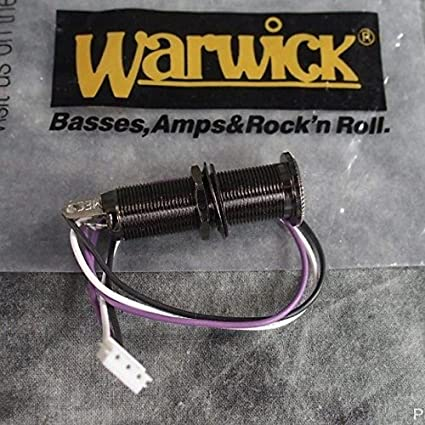 Amazon.com: Warwick Input Stereo Jack Black M50100BR4 With Wire Guitar Part  SPW50100BR4: Musical Instruments | Guitar Stereo Jack Wiring |  | Amazon.com