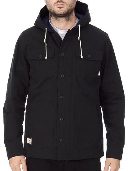 7695542b7f Vans Lismore Deluxe Jacket - Black - Extra Large  Amazon.co.uk  Clothing