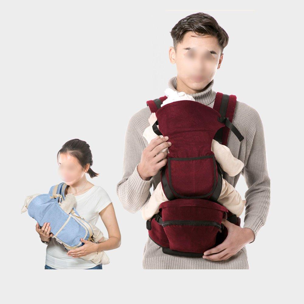GLD Babytrage SJJL Baby-Träger-einfache Mode-Multifunktions-Baby-Bügel/bequemer breathable entfernbarer Baby-Taillen-Schemel (Farbe : C)