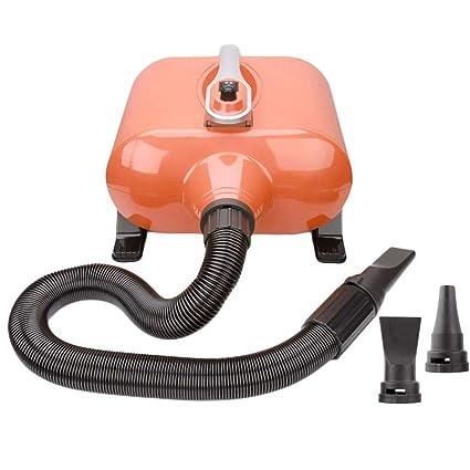 TSTLCLLMZ Perro Profesional Grooming Doble Motor secador de Pelo 3000W Velocidad sin escalonamiento bajo Ruido,