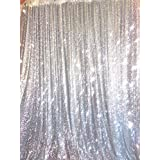 4ft X 6ft Silver Sequin Photo Backdrop, Any Size Is Acceptable ,wedding Photo Booth,photography Background,ceremony Background