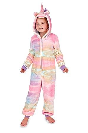 a8b7687905f1 Loungeable Kids Luxury Rainbow Unicorn Onesie Or Robe  Amazon.co.uk   Clothing