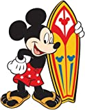 Mickry Mouse Surfer Standing - Disney - Rubber Refrigerator Magnet