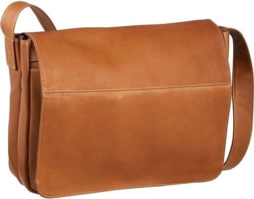 Le Donne Leather Full Flap Leather Laptop Messenger Bag