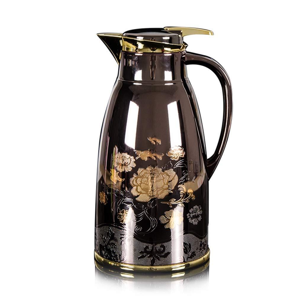 コーヒーポット、家庭用大容量湯たんぽを押す絶縁ポット1.6L(色:B) B07R2NKXQ7 B