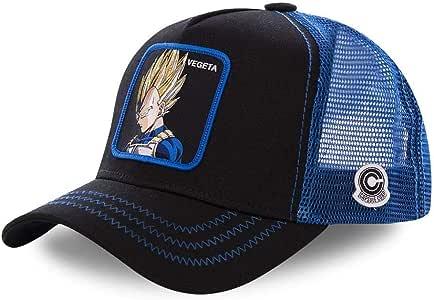 Collabs Gorra Dragon Ball Z Vegeta Trucker Negro (Talla única para ...