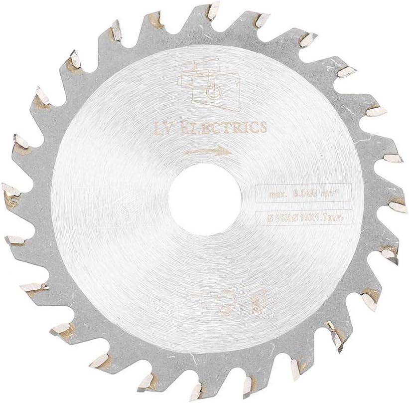 Disco de corte circular para carpinter/ía GIlH Drillpro 5 unidades, 85 mm, 24 dientes, 15 mm
