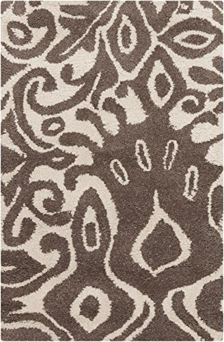 Surya Kate Spain Alhambra ALH-5001 Hand Tufted 100-Percent New Zealand Wool Floral and Paisley Accent Rug, 2-Feet by 3-Feet by Surya