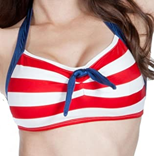 product image for Fables by Barrie Women's Vintage Pinup Style Skipper Bikini Top